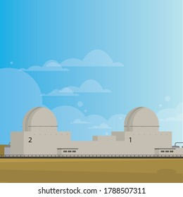 Nuclear Power Plant buildings for UAE