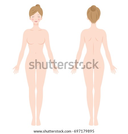 Consider, Nude pics of girls standing front view