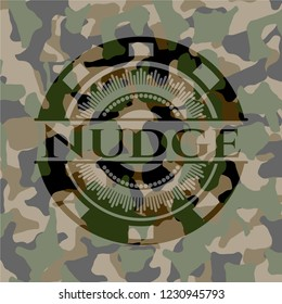 Nudge on camo pattern