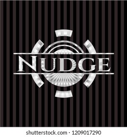 Nudge silver emblem