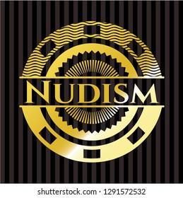 Nudism gold badge