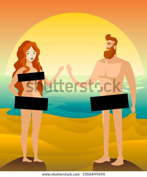 Nudist couple pics