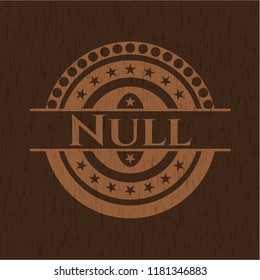 Null wood signboards
