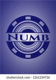 Numb denim background