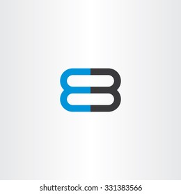 number 8 and 3 logo 83 vector icon design