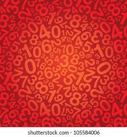 number background