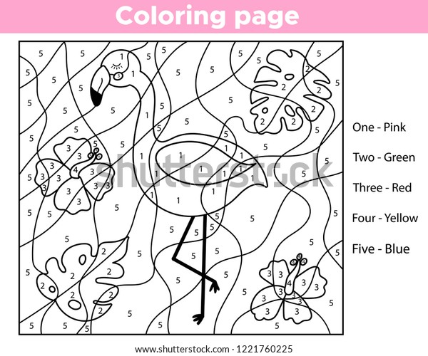 Coloring Number Pages | The InstaPaper | 500x600