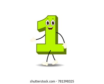 Number One Character Vector