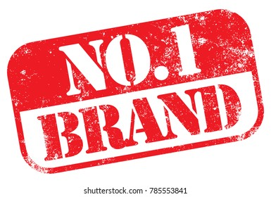 Number One (No1) Brand Stamp