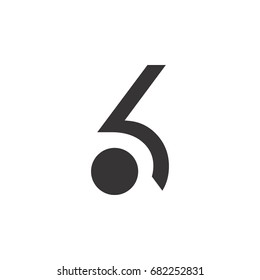 number six logo