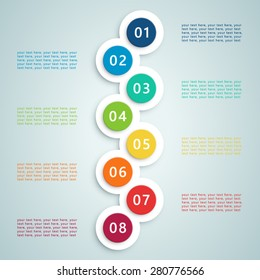 Number Steps Infographic 7