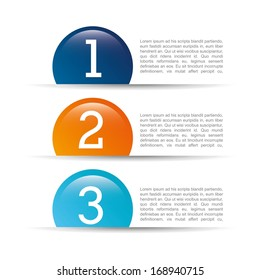numbers design over white  background vector illustration
