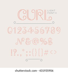 Thin slab images stock photos vectors shutterstock numbers and extra characters for a font question mark exclamation point ampersand publicscrutiny Images