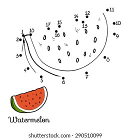 Numbers game (watermelon)