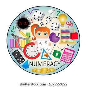 Numeracy web icon