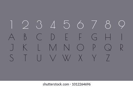 Numerology Alphabet Chart