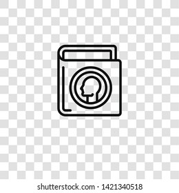 numismatic icon from hobby collection for mobile concept and web apps icon. Transparent outline, thin line numismatic icon for website design and mobile, app development