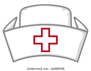 nurse cap (medical white hat)
