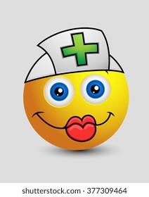 Nurse Emoji Smiley Emoticon
