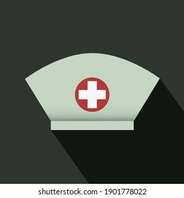 Nurse hat - isolated vector illustration