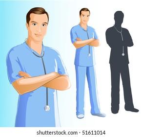 Nurse (Man)