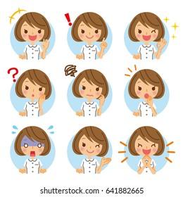 Nurse's icon.