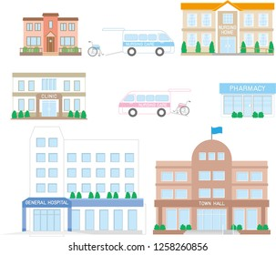 Nursing care facilities related to elderly