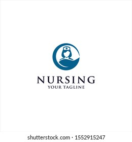 Nursing Logo Design Template idea