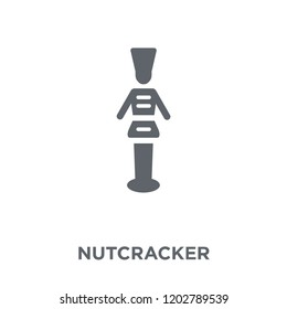 Nutcracker icon. Nutcracker design concept from Christmas collection. Simple element vector illustration on white background.