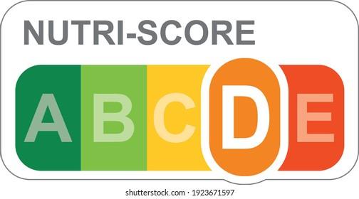 Nutri-score, étiquette nutritionnelle européenne pour les denrées alimentaires