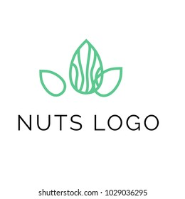 Nuts logo vector