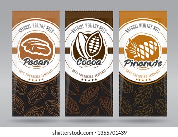Nuts packaging set