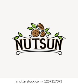 Nuts sun logo