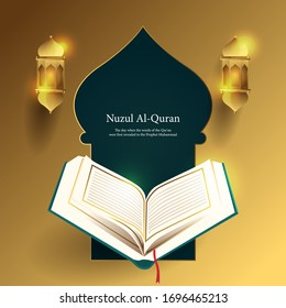 Nuzul Al-Quran, The day when the words of the Qur'an were first revealed to the prophet muhammad