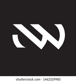 NW letter based logo. simple clean and modern.