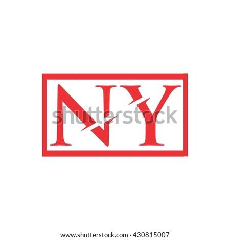 ny logo stock vector royalty free 430815007 shutterstock
