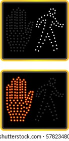 NYC crosswalk signal