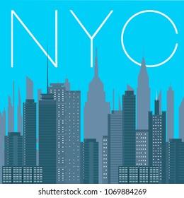 NYC- panorama of New York city