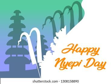 Gambar ucapan selamat Hari Raya Nyepi 2019