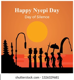 "Nyepi is a Balinese ""Day of Silence"" that is commemorated every Isakawarsa (Saka new year) according to the Balinese calendar."