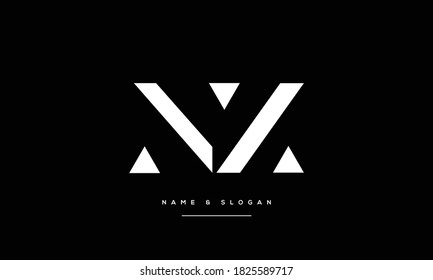 NZ ,ZN ,N,Z abstract Letters Logo Monogram