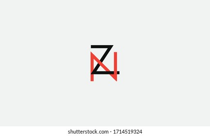 NZ or ZN letter logo. Unique attractive creative modern initial NZ ZN N Z initial based letter icon logo