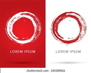 O alphabet,0,Zero, Blood stains, designed using brush grunge, logo, symbol, icon, graphic, vector.
