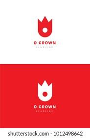 O crown logo template.