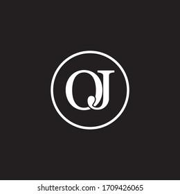 O J letter logo template design
