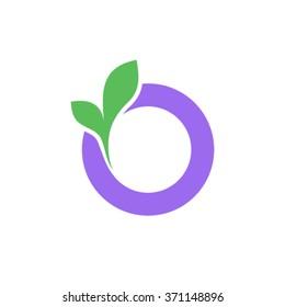 O Letter business logo design template
