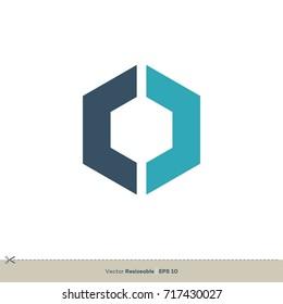 O Letter Logo Template