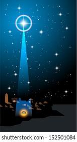 O Little Town of Bethlehem: Star heralds the birth of Christ