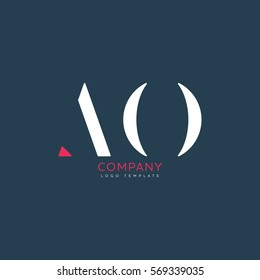 A O logo design for Corporate