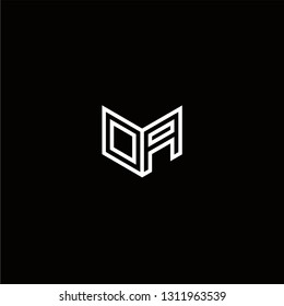 OA Logo Letter initial Designs Templete
